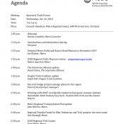 Quarterly Trails Forum (Metro)