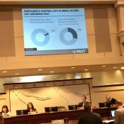 Central City in Motion plan adopted by Portland city council with 3-0 vote