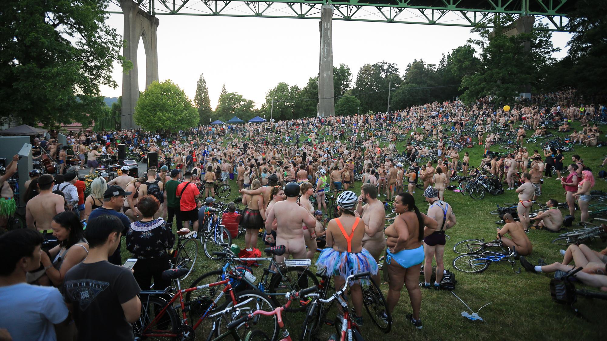 Naked Bike Ride Pics