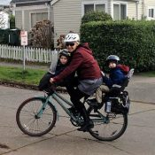 Saddle height hints, ballast before babes, and other tips for settling into family biking