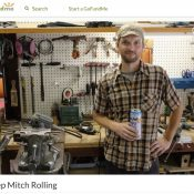 Former Portland bike builder Mitch Pryor loses home and shop in Camp Fire