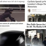 The Monday Roundup: the plaza problem, 3D helmet, farewell Faraday, and more