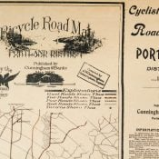 This 1896 map shows the depth of Portland's cycling culture