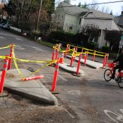 New diverters on Ankeny and Lincoln part of plan to keep drivers off side streets