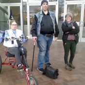Disability rights activists to TriMet: Let us take trikes on MAX