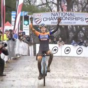 A championship for Honsinger and a great Portland showing at Cyclocross Nationals