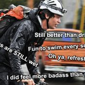 How Portlanders handled a wet, dark, stormy bike commute