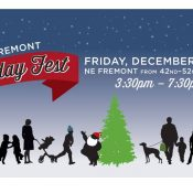 Bike Ride to Fremont Holiday Fest