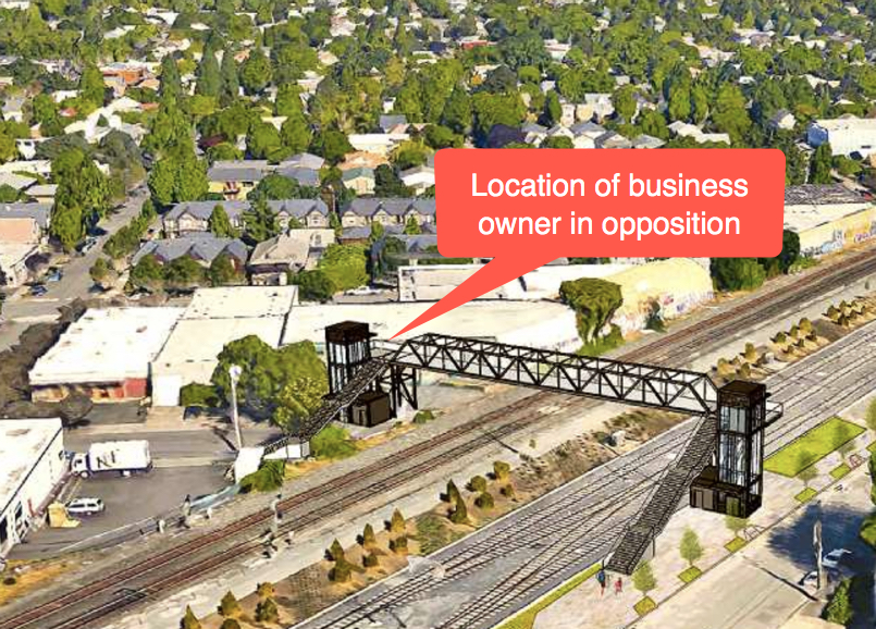 Business owner uses attorney and electeds to fight TriMet's Gideon  Overcrossing project - BikePortland org
