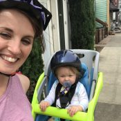 Family biking profile: A new(ish) rider and her toddler take to the streets