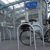 First look at TriMet's new Bike & Ride parking at Goose Hollow