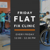 Friday Flat Fix Clinic (PSU Bike Hub)