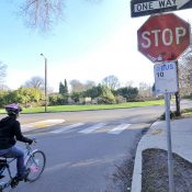 With video of lawbreakers, PPB will increase focus on infamous Ladd Circle stop sign