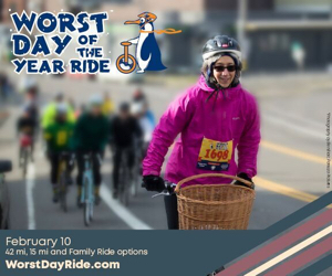 Worst Day of the Year Ride is Feb 10th!