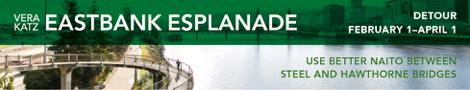 Esplanade closure begins February 1st