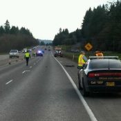 Man riding a bicycle dies in collision with truck operator on Highway 30 near Scappoose