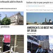The Monday Roundup: Chaos in utopia, a 'bicycle beltway', Oslo's big move, and more