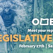 Oregon Mountain Bike Legislative Day in Salem