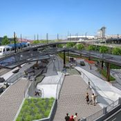 New Steel Bridge Skatepark would create plaza destination in Old Town