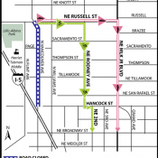 Route Advisory: Three month closure of N Vancouver Ave starts Monday