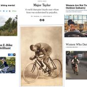 The Monday Roundup: Major Taylor recognized, cycling's bro culture, campus car culture, and more