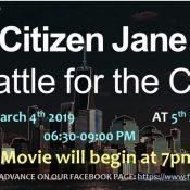 Citizen Jane: Battle for the City Film Screening