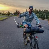 From Portland to the summit of Mt. Hood and back, by bike (and boot and ski)