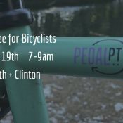 Free Coffee for Bicyclists
