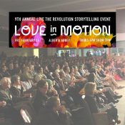 Get to know your community through 'Love in Motion' live storytelling event