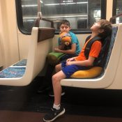 Carfree travel with kids: Taking the family around L.A. by transit