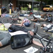 Die-In to protest ODOT's deadly Portland streets