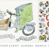 Family Biking: Author and illustrator Alison Farrell comes to Storytime March 10th