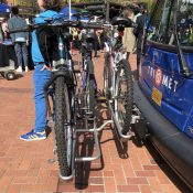 TriMet's new buses come with three-bike front racks