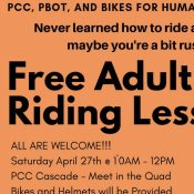 Free Adult Riding Lessons