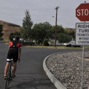 Senate committee passes 'Idaho Stop' bill allowing bicycle riders to yield at stop signs