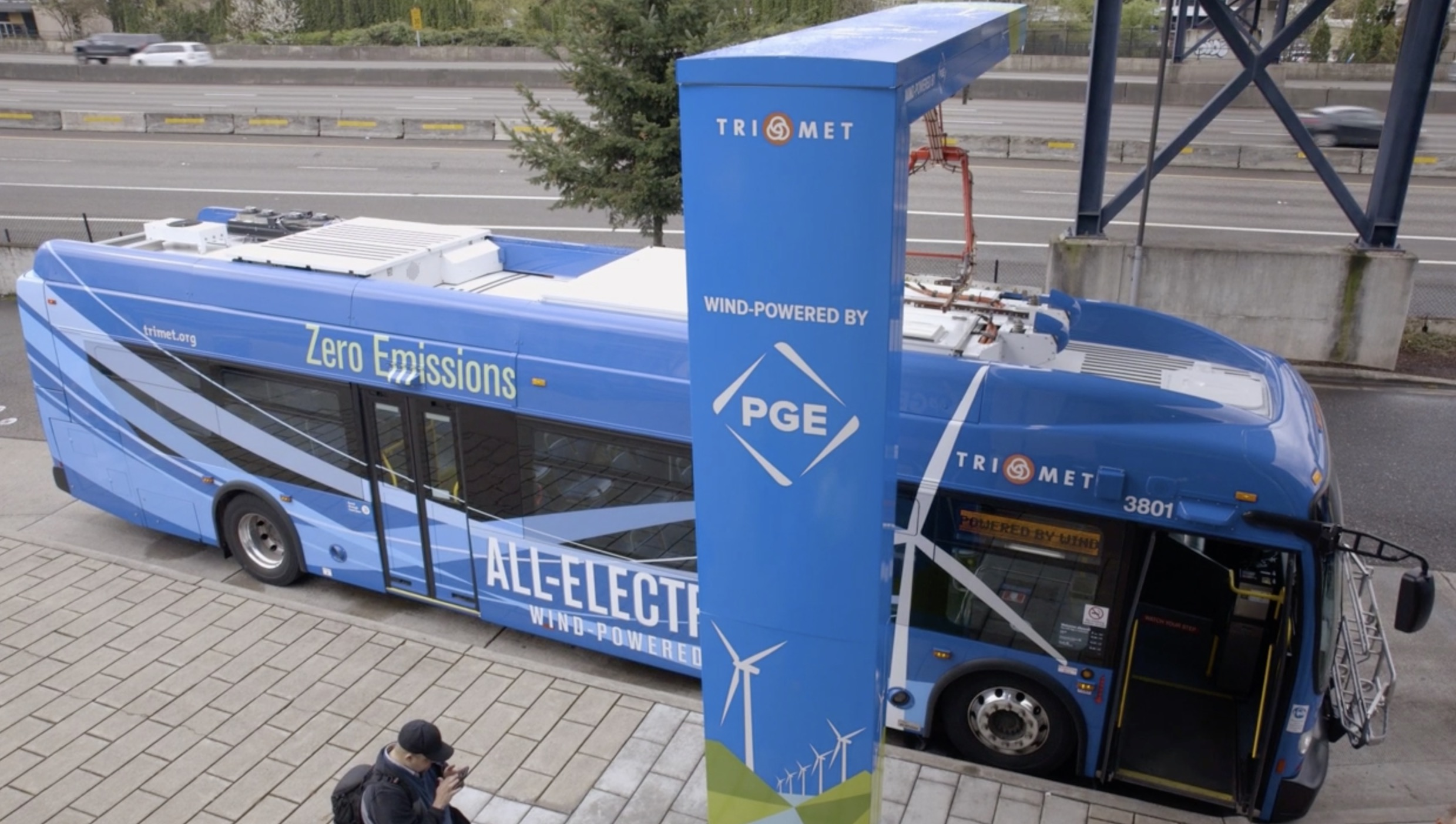 Trimet Launches New Zero Emission Wind Powered Electric