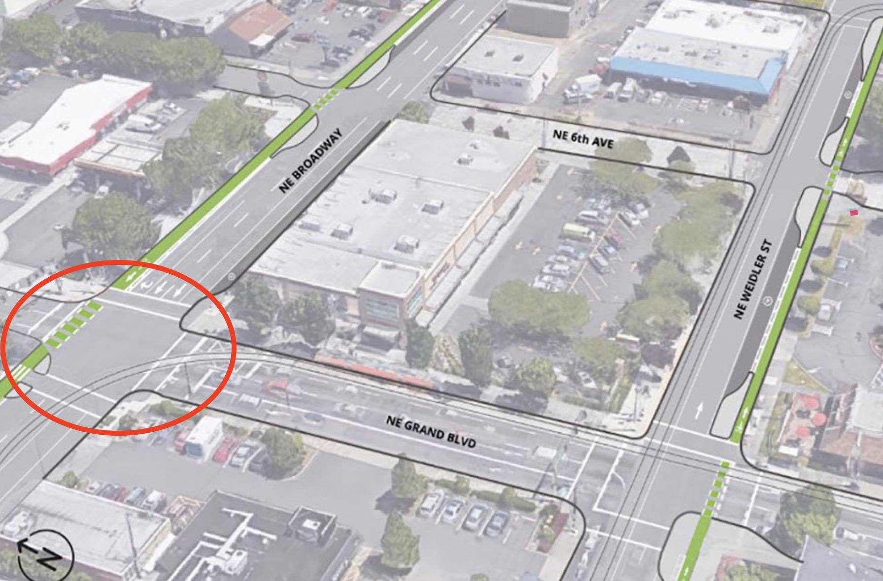 Police investigate fatal collision at NE Broadway and Grand -  BikePortland org