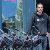 He was worried about bike share's impact on his business. Now he profits from it