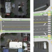 TriMet wants to build protected intersections at three locations in east Portland