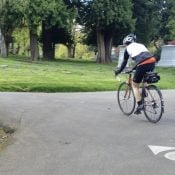 Route advisory: River View Cemetery closed to bicycle riders this weekend
