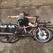 Family Biking: We all fall down