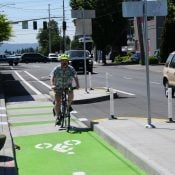 First Look: Halsey-Weidler couplet in Gateway updated with protected bikeways and more
