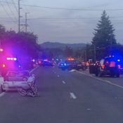 Bicycle rider killed in collision with driver on 99W in Tigard