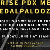 Sunrise PDX Pedalpalooza Climate Ride!