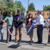 'I hope it was worth the wait': Commissioner Eudaly cuts ribbon on Foster Road project