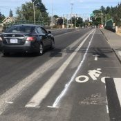 ODOT will shrink bike lanes on North Rosa Parks Way