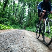 A loop for the gravel-curious: Gunners Lakes from Stub Stewart State Park