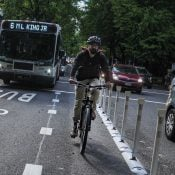 How Portland got a bus/bike only lane on Southwest Madison