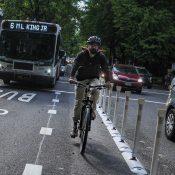 How Portland got a bus/bike only lane on Southwest Madison