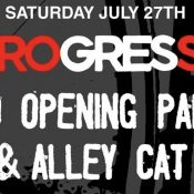 Retrogression Grand Opening Party & Alley Cat Race